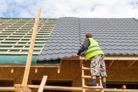 installation bac en acier toiture