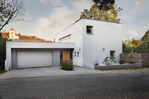 maison avec toiture plate accessible