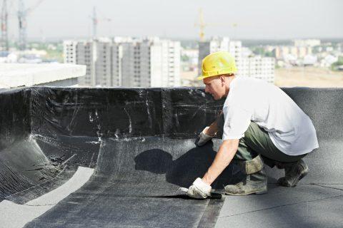 installation d'un revêtement toit terrasse