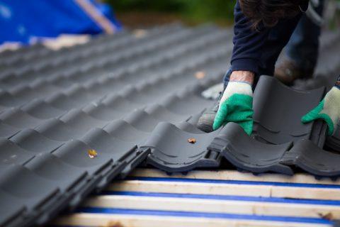 construction du toit et de son étanchéité